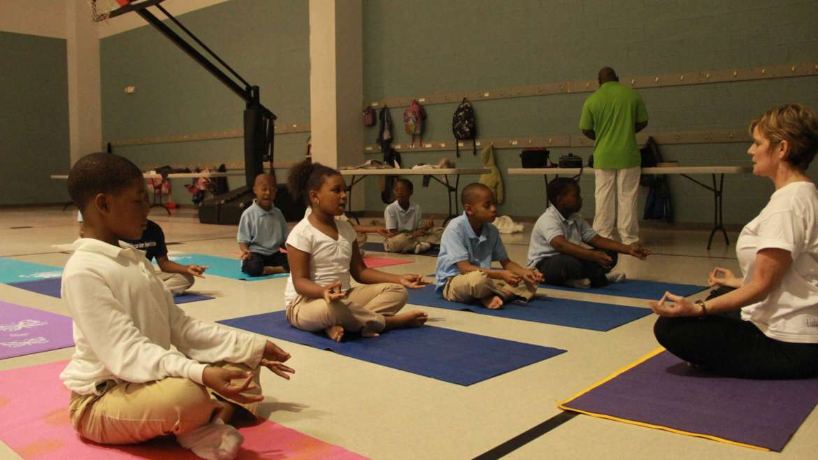 YOGA for Youth NC continues 2017 CAPS Programming