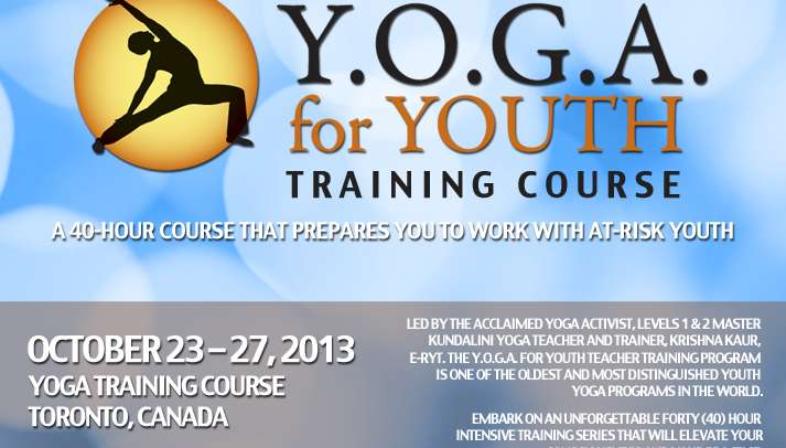 Y.O.G.A. for Youth Training – Toronto