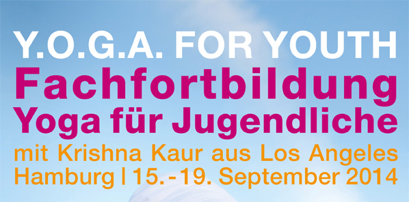 Y.O.G.A. for Youth Teacher Training: Hamburg, Germany