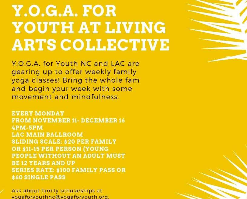 Family Yoga Classes at Living Arts Collective